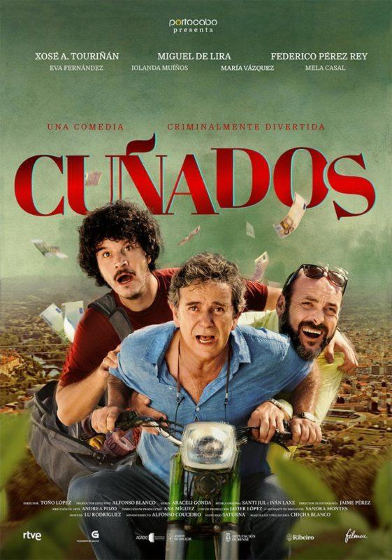 """Cartel """"Cuñados"""""""
